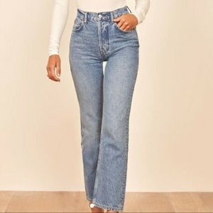 Cynthia High Relaxed jean in shade tahoe
